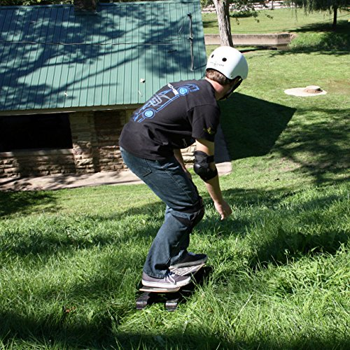Rockboard Descender Skateboard, Rot, 2125 -