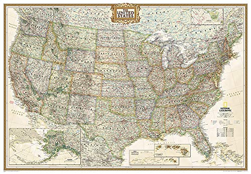USA Executive, Grossformat: 1:2815000 (National Geographic Reference Map)