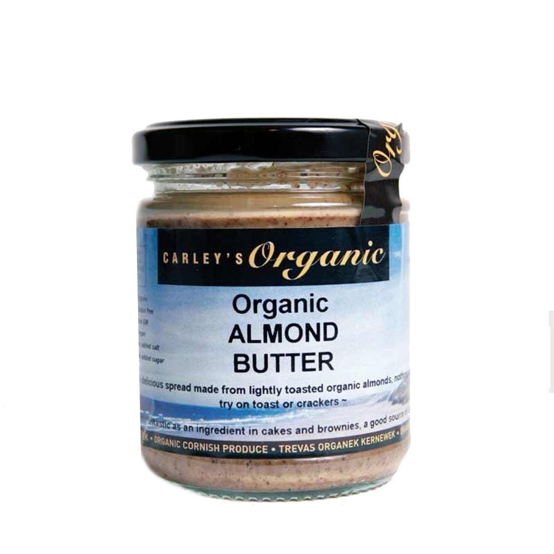 Carley's   Almond Butter- Organic   4 x 170g