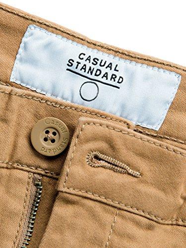 Casual Standard Chino Hose Modern Slim Fit Sand/Beige