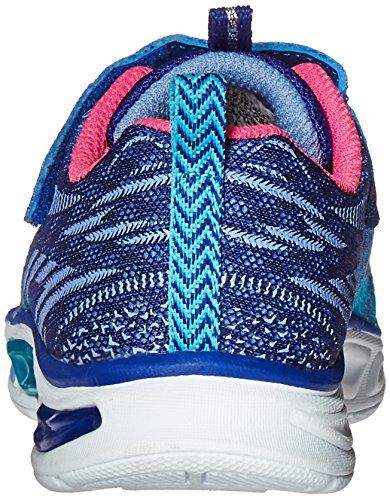 Skechers Litebeams, Scarpe tecniche Bambina Blu (BLHP)