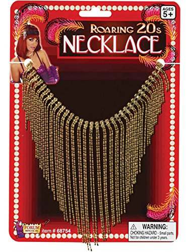 LADIES 20'S VINTAGE HOLLYWOOD NECKLACE FANCY DRESS (Erwachsene Hollywood Kostüme)
