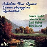 Schubert: Trout Quintet; Sonata Arpeggione; Quartettsatz by Sviatoslav Richter (2015-08-03)