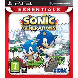 Sonic Generations PS-3 Essentials UK Multi