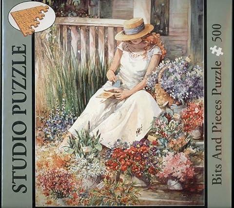 Bits & Pieces Studio Puzzle - 500 Pieces - Flower