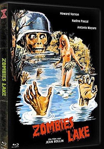 Zombie Lake - Limited uncut Mediabook - Blu Ray+DVD - Cover B