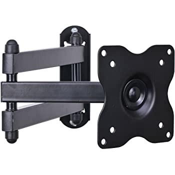 """VideoSecu Articulating Arm TV LCD Monitor Wall Mount, Full Motion Tilt Swivel and Rotate for Most 15"""" 17"""" 19"""" 20"""" 22"""" 23"""" 24"""" 26"""" 27"""" LED TV Flat Panel Screen with VESA 100, 75 ML12B CB5"""