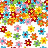 Self-Adhesive Felt Flowers Stickers Children's Art and Craft Activities (Pack of 60)