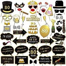 Suchergebnis Auf Amazon De Fur 80 Geburtstag Deko