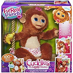 Fur Real Friends - Peluche Moni Monita (Hasbro A1650E24)