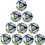 Erima Trainingsball 10x Hybrid Größe 5 inkl. Ballnetz