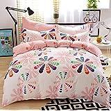 HBY de algodón ropa de cama de algodón de la familia de cuatro miembros minimalista kit 2m bed
