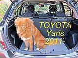 Trennung Net Dog Guard Drahtgeflecht Kopfstütze montiert, passend für Toyota Yaris ab Bj 2011