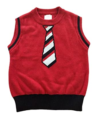 Fashion kidswear Baby Little Boys Knit Sweater Vest: Amazon.co.uk ...