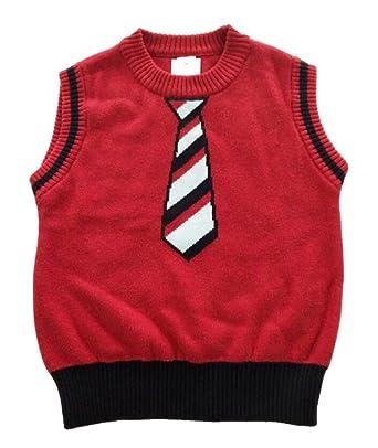 Fashion kidswear Baby Little Boys Knit Sweater Vest: Amazon.co.uk ...