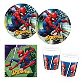Procos 10118255 Party Set Spiderman Team Up