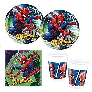 Procos 10118255Party Set Spiderman Team