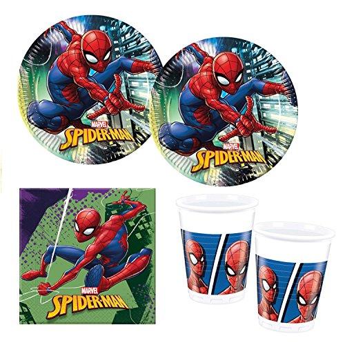 Procos 10118255Party Set Spiderman équipe Up