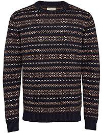 Selected SHHMonrad Crew Neck Sweater