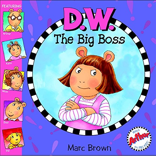 D.W. The Big Boss (Arthur)