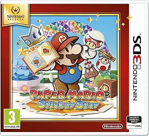 Mario Et Luigi Dream Team Bros 3ds - Paper Mario : Sticker Star - Nintendo