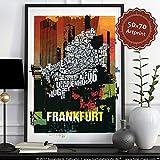 Frankfurt Buchstabenort Mainhattan 2016
