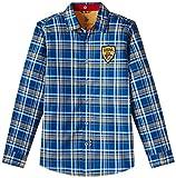US Polo Association Boys' Shirt (UKSH5693_Dark Blue_S)