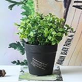 GSYLOL 1 Satz Künstliche Blume Gras Gefälschte Blumenerde Bonsai Für Hochzeit Home Party Dekorative 2 Stil, Teeblätter
