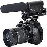 ATian TAKSTAR SGC-598 Shotgun-Mikrofon mit hoher Empfindlichkeit Webcast-Mikrofon Foto-Kamera Video-Interview Mikrofon kompatibel mit Smartphone/DSLR-Nikon/Canon/DV-Camcorder (3,5-mm-Schnittstelle)