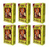 6 X 100g Henna Color Naturhaarfärbemittel Pulver Farbe Öko Farblos - 6Stück