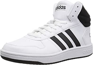 adidas Hoops 2.0 Mid, Scarpe da Ginnastica Uomo, US Maenner