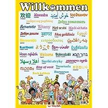 "Multilinguales LernPOSTER ""Willkommen"": (in 35 Sprachen)"
