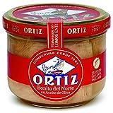 Conservas Ortiz Bonito del Norte Weißer Thunfisch in Olivenöl, 1er Pack (1 x 220 g)