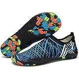 Mens Womens Water Shoes Barefoot Beach Pool Shoes Quick-Dry Aqua Yoga Socks for Surf Swim Water Sport Non-slip Swim Beach Sho