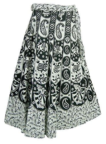Indien Damen Gedruckt Kleidung Baumwolle Wickelrock