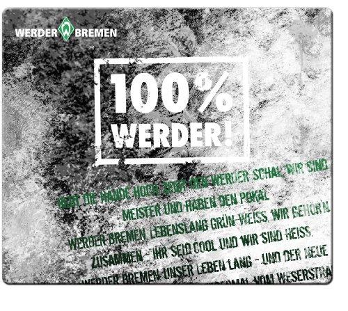 Speedlink Silk Mauspad Fan Edition SVW - Werder Bremen -