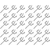 Lsydgn Ganchos para tablero perforado Ganchos metal para tableros perforados Juego de ganchos para panel perforado Ganchos pa