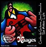 John Pearse 2800L Jeu de cordes pour Guitare Nuage Light