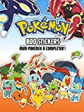Pokemon - 800 stickers...