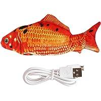 Flippity Fish, Simulations Fisch Elektrisches mit USB-Kabel, Katzenspielzeug Fisch, Interaktives Fisch Spielzeug für…