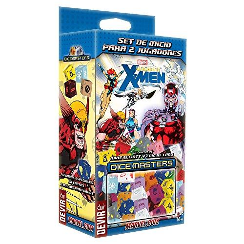 Devir - Dice Master Uncanny X-Men, Juego de Dados (Wizkids 272104)