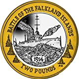Falkland Islands 2014 Centenary of the Battle of Falkland £2 Coin