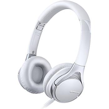 Sony MDR-10RC faltbarer High Resolution Kopfhörer (integrierte Fernbedienung mit Mikrofon, 100dB/mW) weiß