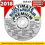 Recovery & Repair CD DVD für Windows 10 - 8 - Win 7 - XP - 32 & 64 bit