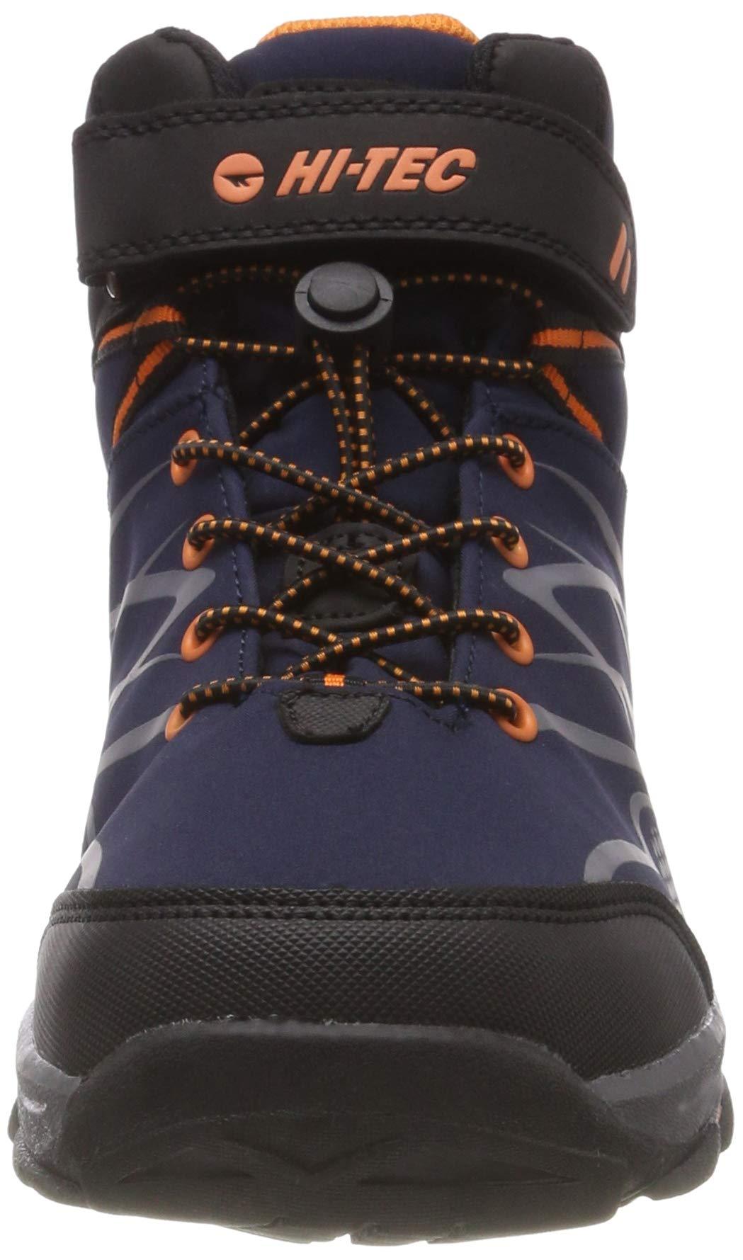 Hi-Tec Unisex Kids' Blackout Mid Wp Jr High Rise Hiking Boots 4