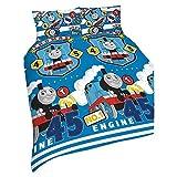 Thomas und seine Freunde Thomas 'Patch' Doppel-Bettbezug-Set–Wiederholendes Druck-Design