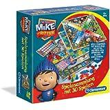 Clementoni 69339.9 - Mike der Ritter - Spielesammlung, 30 Spielvarianten