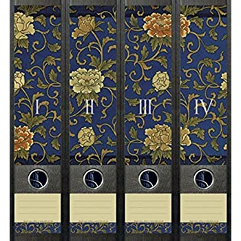 File Art AJ071 Design Etiketten Ordnerr/ückenschilder