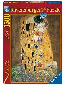 Ravensburger - 16290 - Puzzle Classique - Klimt, Le Baiser - 1500 Pièces