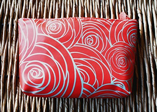 March 2016 IPSY Zippered Cosmetics Makeup Bag Rose Design by Ipsy